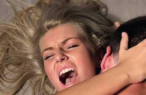 Фото оргазм при анальном сексе при маленьком члене партнера