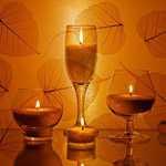 Романтическое освещение любовного ложе