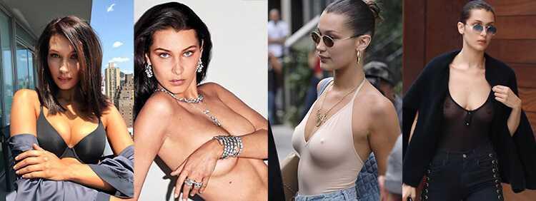Пластику груди Белла перенесла в 21 год