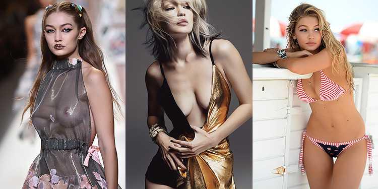 Джиджи Хадид увеличение груди