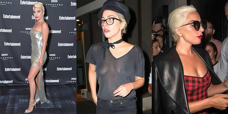 Леди Гага до маммопластики