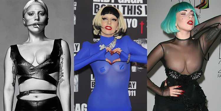 Леди Гага в начале карьеры