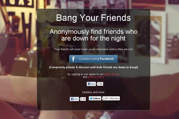 Секс с друзьями из Facebook. Bang with Friends (bangwithfriends.com)