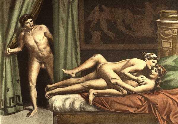 Император Калигула славился своей сексуальной ненасытностью.