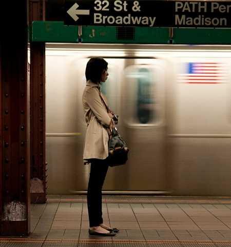Знакомство в метро.