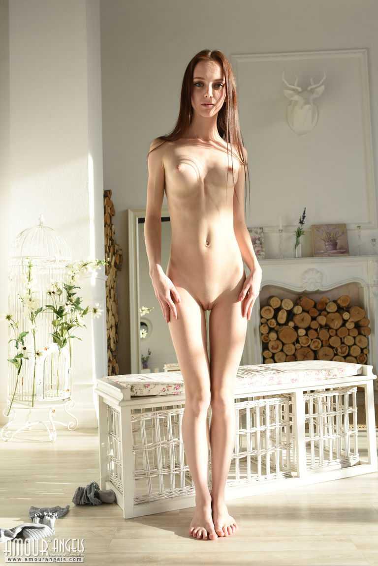 Tall skinny babe